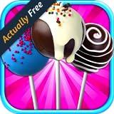 Cake Pops Kids Cooking Games - Dessert, Cake Pop & Baking Games FREE
