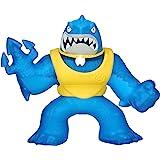 Heroes of Goo Jit Zu Coffret héros avec Attaque Jet d'Eau - Thrash - Figurine de Requin Super-Gluant avec Attaque Jet d'Eau