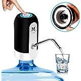Moguat Dispensador Agua para Garrafas con Adaptador, Dosificador Eléctrico Automático Extraíble Recargable USB Botellas Agua