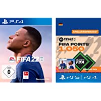 FIFA 22 - Standard Plus Edition (exklusiv bei Amazon.de) [Playstation 4] + FIFA 22 Ultimate Team - 1050 FIFA Points…