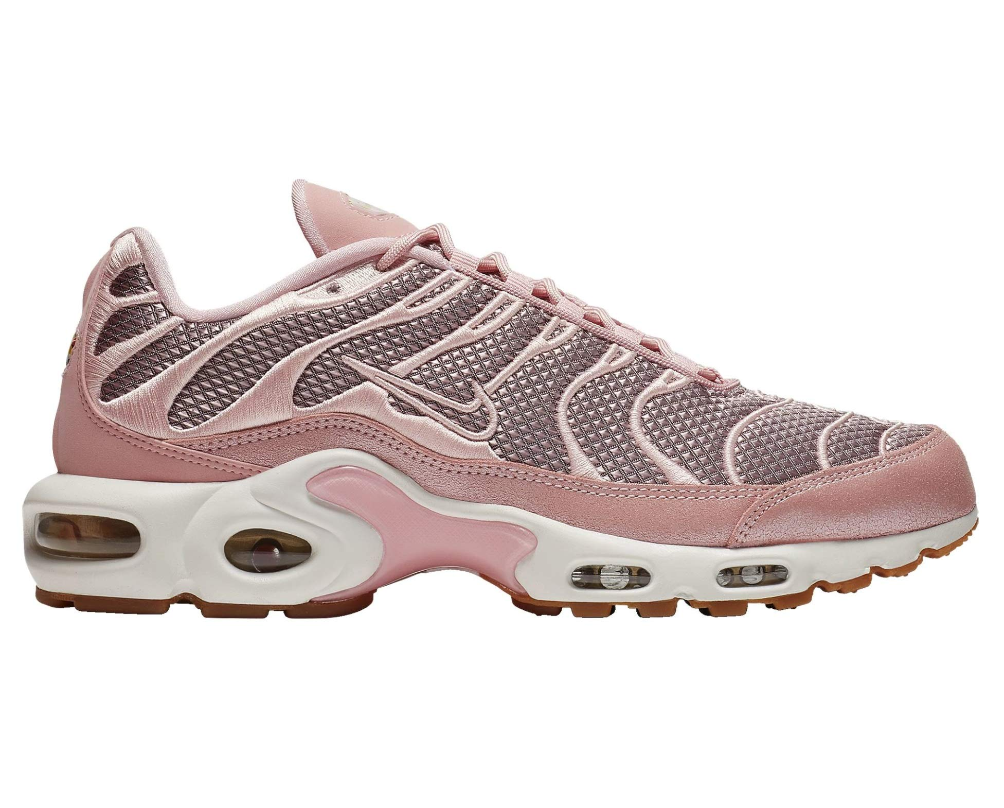 separation shoes eddaa 4fff2 Nike Air Max Plus - Women's Sheen/Metallic Gold/Summit White Nylon Running  Shoes