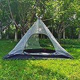 Utomhus tält myggnät inre nät skydd mot insekter för teepee tält camping backpacking vandring bergsklättring uppvärmt skydd e
