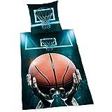 Herding Young Collection Basketball Bettwäsche-Set, Baumwolle, Mehrfarbig, 135 x 200 cm