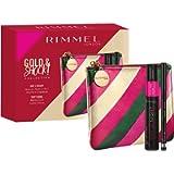 Rimmel London, Confezione Regalo Donna Gold & Shock Collection Day 2 Night Kit, Pochette Metalizzata con Mascara Doppio…