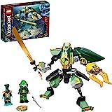 LEGO 71750 Ninjago Le Robot Hydro de Lloyd Set de Construction sous-Marin, Figurine Ninjago pour Enfants avec Mini Figurine d