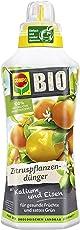 Compo Bio Zitruspflanzendünger für Alle Zitruspflanzen-Arten, Natürlicher Spezial-Flüssigdünger