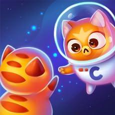 Space Cat Evolution: Fröhliche Kitty, die sich in der Craze-Galaxie sammelt