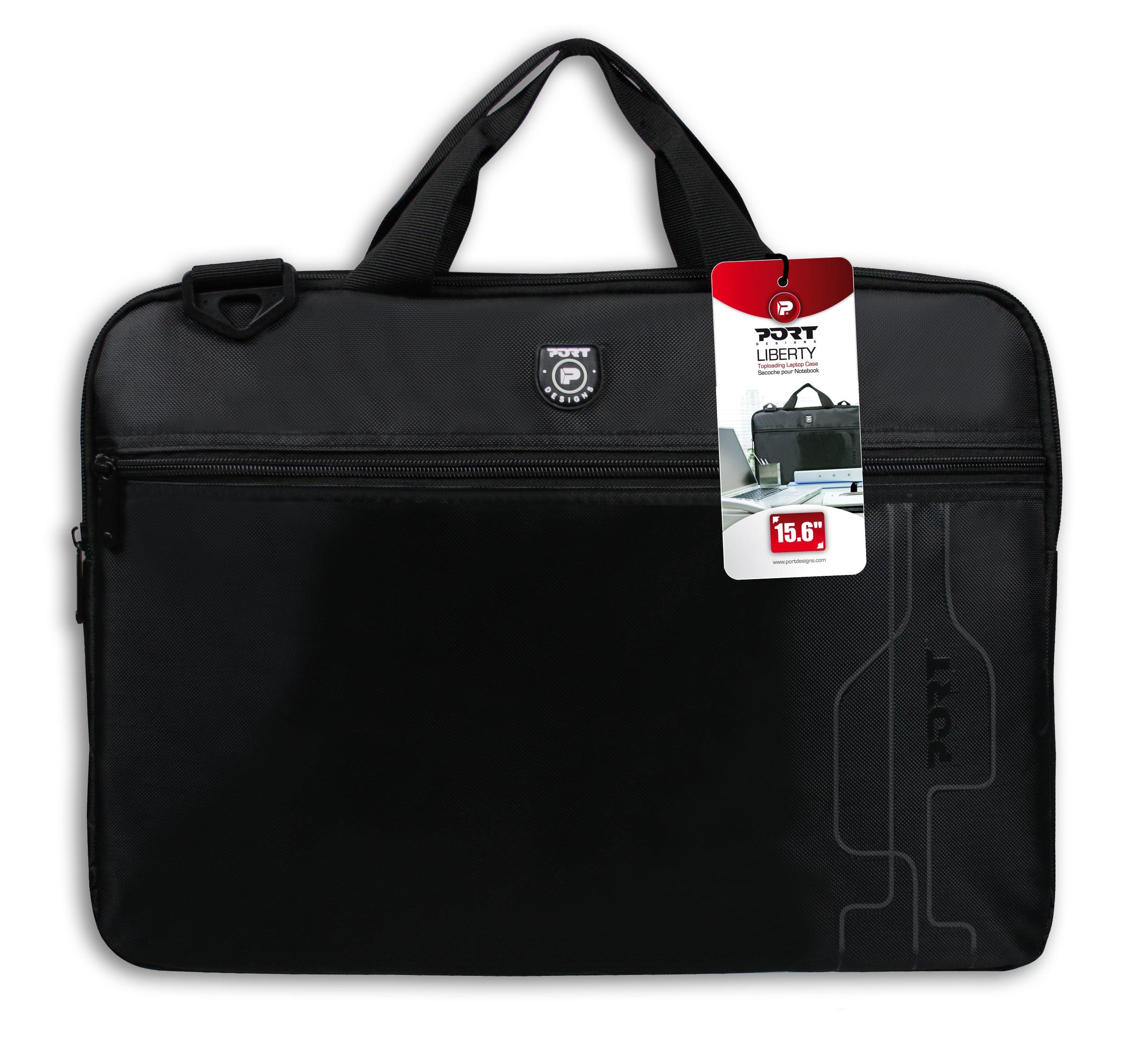 81LCA3h0mfL - Port Designs 202310 maletines para portátil - Funda (Mochila, Negro, Monótono, Nylon, Resistente al Polvo, Resistente a rayones)
