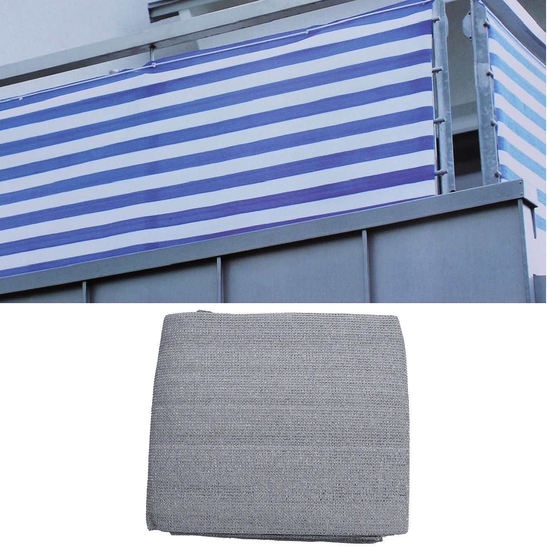 Balkon Sichtschutz Anthrazit 500x90 Balkonsichtschutz