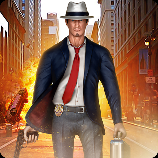 Shadow Super Hero Harte Zeit Schlacht Simulator 3D: Vegas City Kriminelle Geist Polizei Chase Gangster Fighting Survival Abenteuer Mission 2018 -