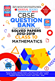 Oswaal CBSE Question Bank Class 10 Mathematics Chapterwise & Topicwise (For March 2020 Exam)