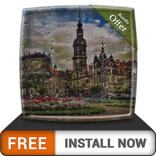 Rainy City Light HD - FREE Cool Rainy Theme for Summer Vacations - Fire TV & Kindle Devices
