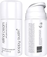 Poppy Austin® Miglior Crema al Retinolo per Giorno e Notte - Gigante Flacone da 100ml - Crema Idratante...