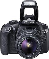 Canon EOS 1300D Digitale Spiegelreflexkamera (18 Megapixel, APS-C CMOS-Sensor, WLAN mit NFC, Full-HD)