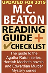 M. C. Beaton Reading Order and Checklist: The guide to the Agatha Raisin series, Hamish Macbeth novels. and Edwardian Murder Mystery series Kindle Edition
