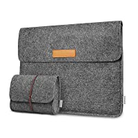 Inateck Laptoptasche Hülle Kompatibel mit 13 Zoll MacBook Air 2020 M1-2018, 13 Zoll MacBook Pro 2020 M1-2016, Surface…