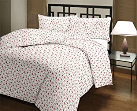 Style Seven Adorable Multi Floral Reversible Single Bed AC Blanket/Dohar/ Quilt (Size 5 x 7 Feet) 1 Pc Set