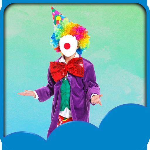 Clown-Foto-Montage