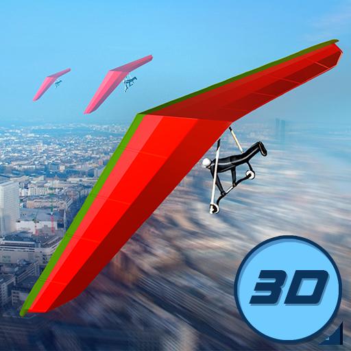 Tal Hängen (Real Hang Gliding Flying Simulator: Aerial Rush Skydiving Game)