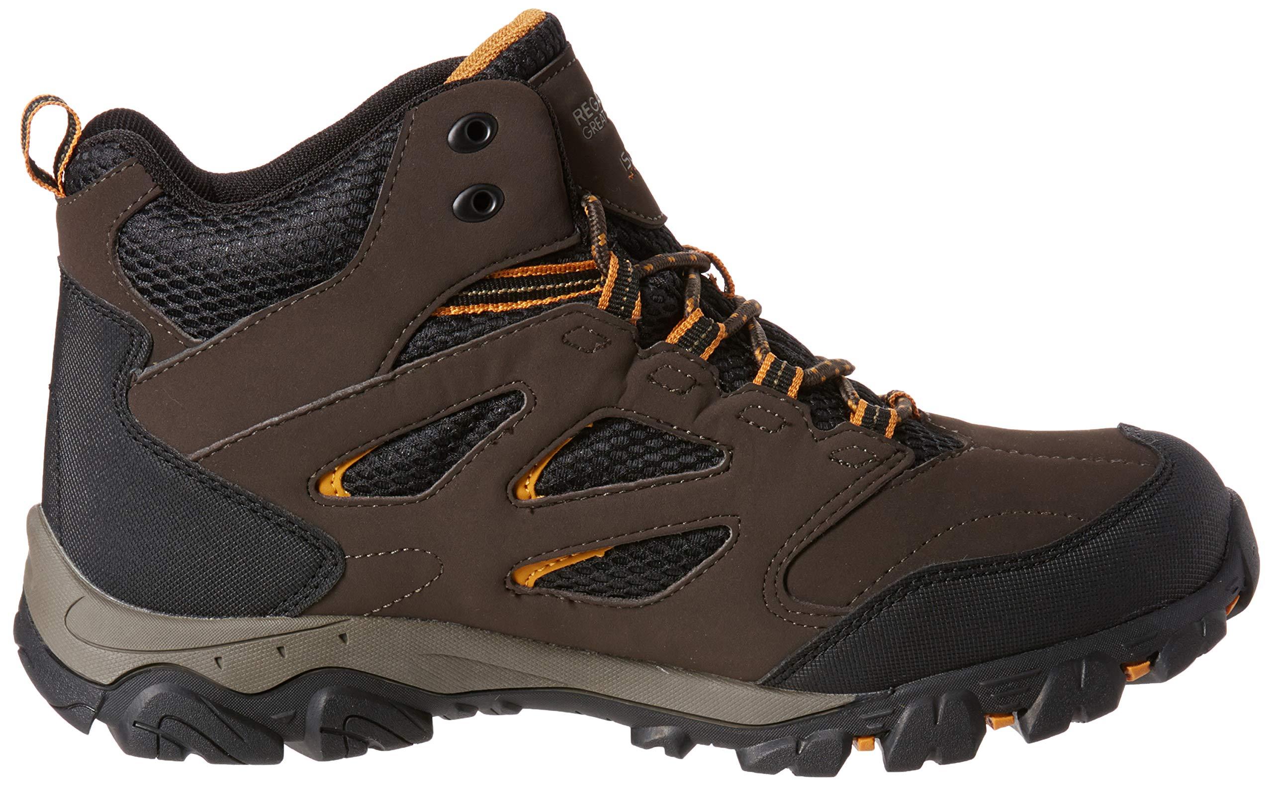 Regatta Men's Holcombe IEP Mid High Rise Hiking Boots 6