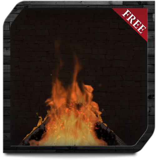 Campfire Chimney HD  - Enjoy the winter with hot romantic fireplace on your TV Screen