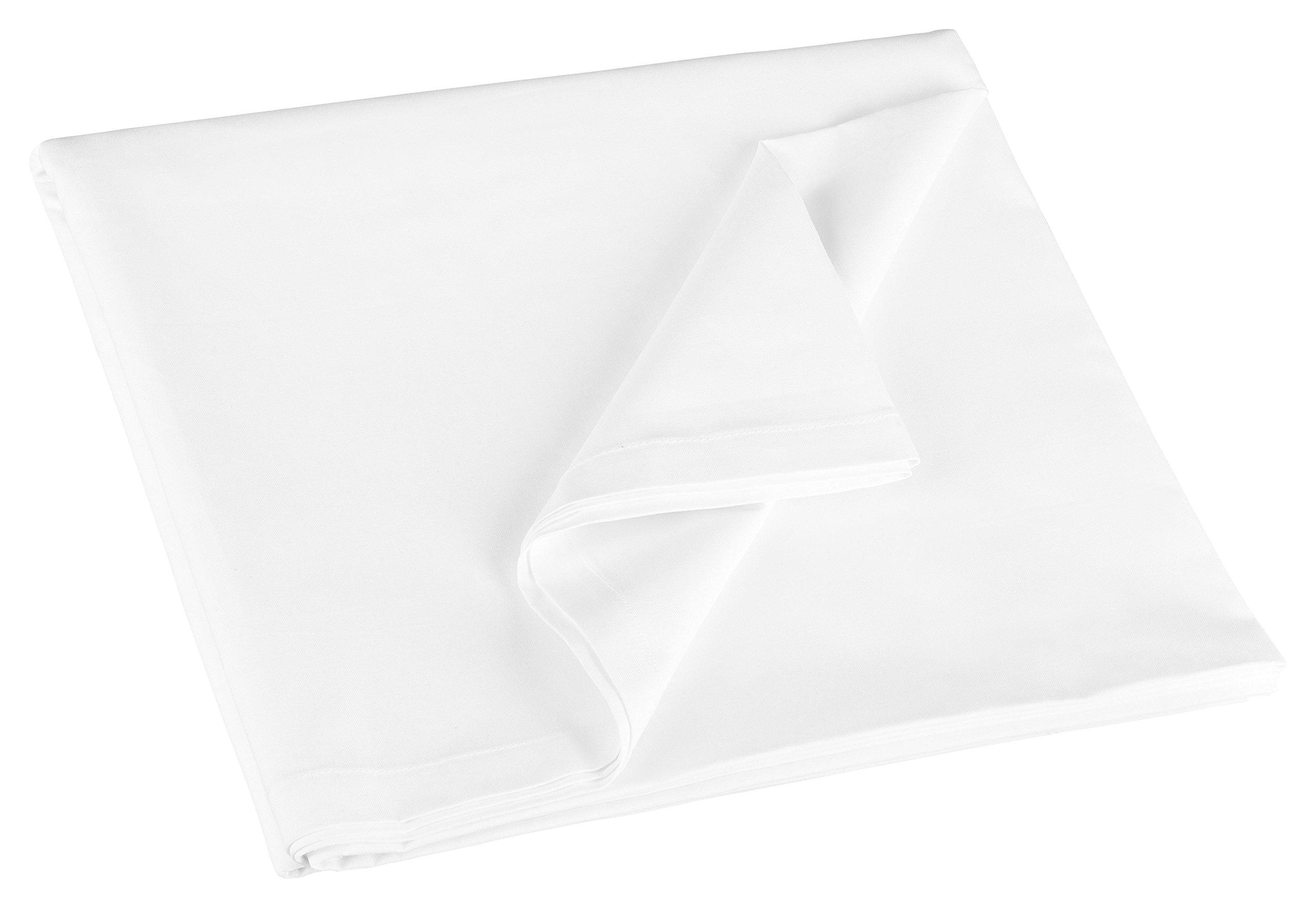 Zollner Bettlaken Betttuch aus Baumwolle, ca. 150x260 cm, ca. 180x290 cm oder ca. 300x300 cm