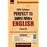 Perfect 15 Sample Papers in English-Core Class-XII (As per Latest CBSE Pattern for 2021 CBSE Board Examinations)