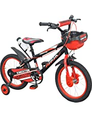 Kingston Kids Cycle 16 inch Ninja BMX (SEMI Assembled) for 5 to 8 Years Child- K336 Tubeless Tyre