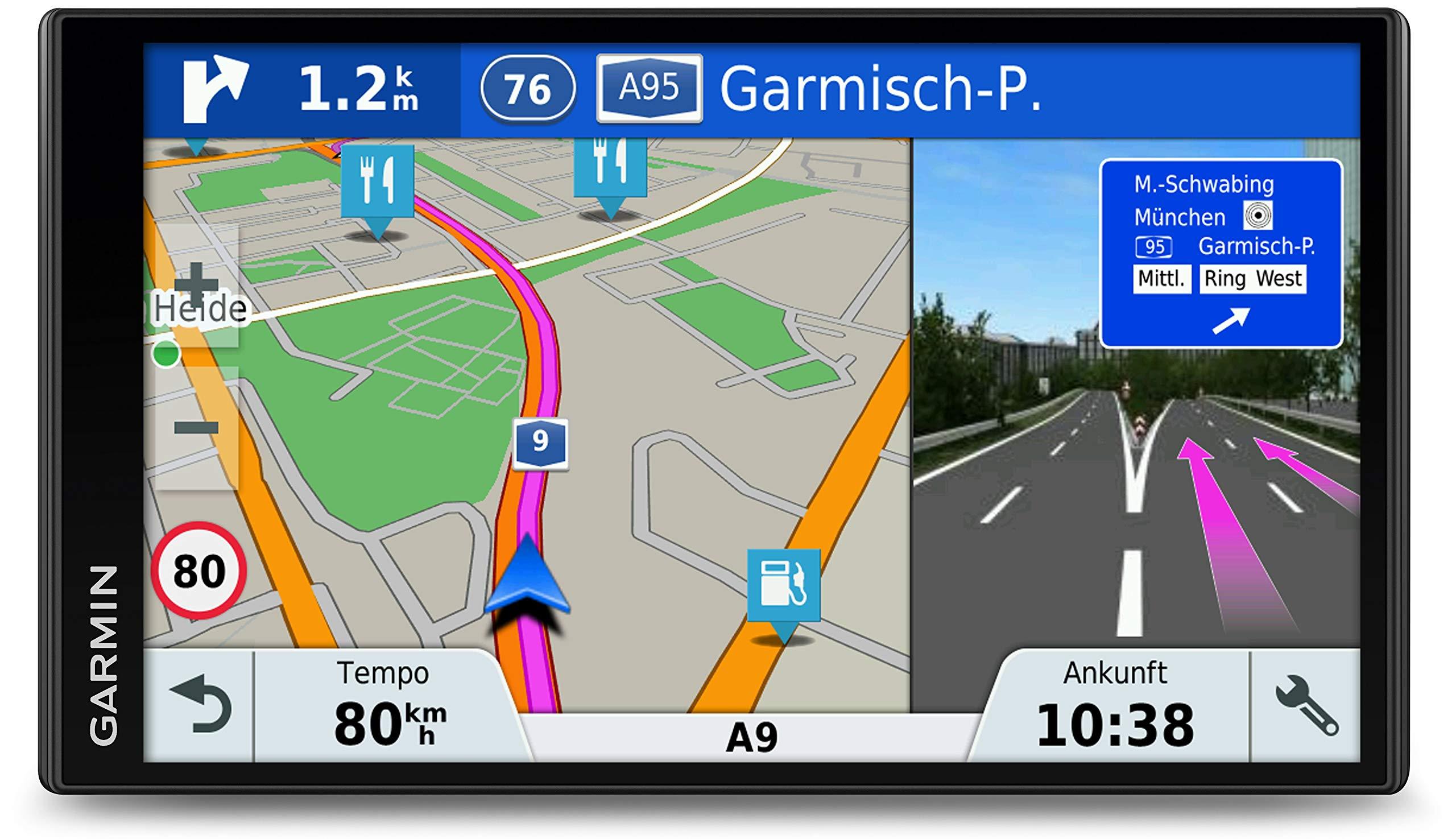 Garmin-Drive-Smart-61-LMT-D-EU-Navigationsgert-Europa-Karte-lebenslang-Kartenupdates-und-Verkehrsinfos-Smart-Notifications-695-Zoll-177-cm-Touchdisplay-Zertifiziert-und-Generalberholt