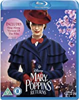 Mary Poppins Returns Blu-ray (Includes Sing-Along Version) [2018] [Region Free]
