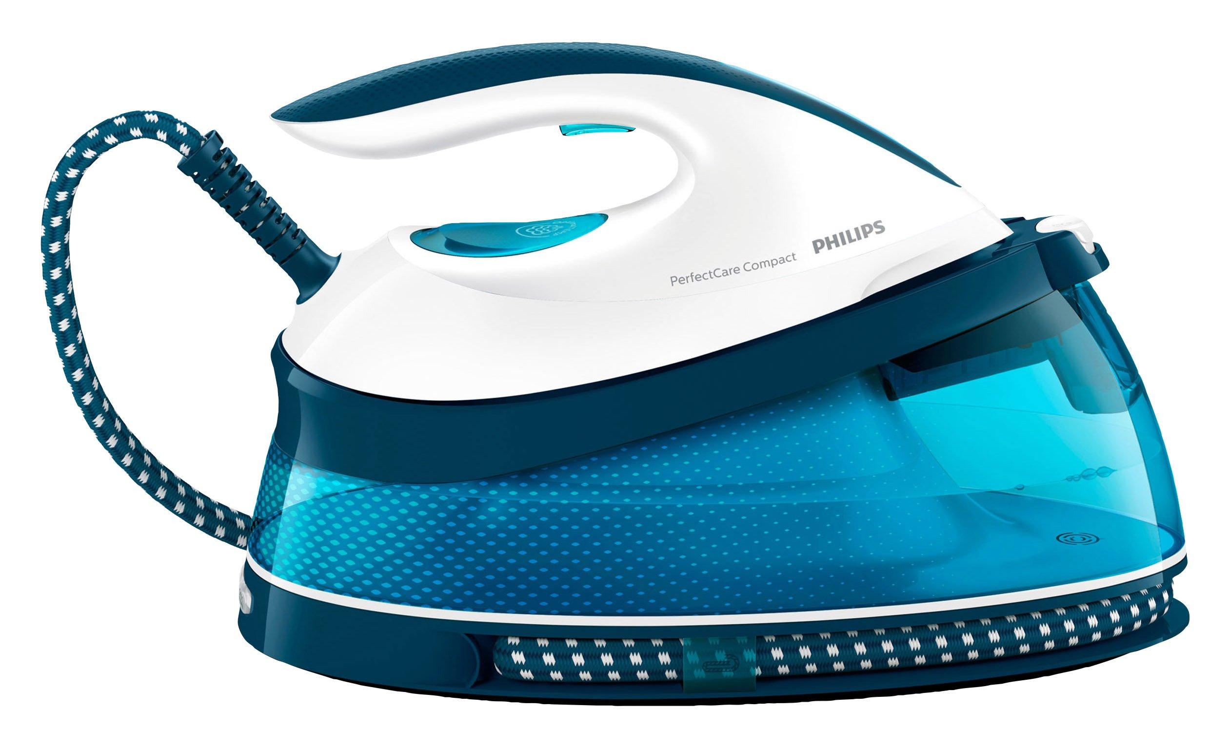 Philips GC7803/20 PerfectCare Compact Dampfbügelstation (2400W, 1,5L) keine Ersatzkartuschen, keine zusätzlichen Kosten