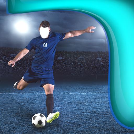 Fußball-Foto-Editor