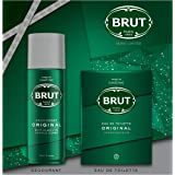 Brut Coffret Cadeau Homme Original avec Déodorant Homme 200ml et Eau de Toilette Homme 100ml, idée cadeau à offrir, Fête des
