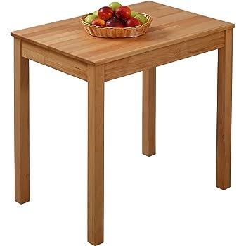 krokwood tomas massivholz esstisch in buche 75x50x75 cm fsc100 massiv beistelltisch geolt buchenholz esszimmertisch kuche