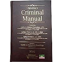 Criminal Manual Containing (Code of Civil Procedure1973 Indian Penal Code 1860 Indian Evidence Act 1872 Handbook in English)