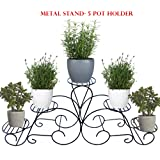 Ascent Homes - Metal Stand for 5 Pot Holder
