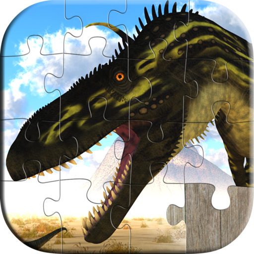 Dinosaur Jigsaw Puzzles for Kids - Free Trial Edition - Fun and Educational Jigsaw Puzzle Game for Kids and Preschool Toddlers, Boys and Girls 2, 3, 4, or 5 Years Old