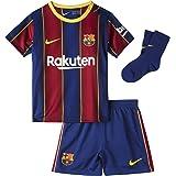 Nike FCB I NK BRT KIT HM voetbalset unisex kinderen Deep Royal