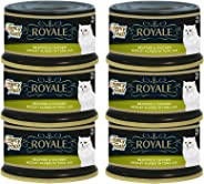 Purina Fancy Feast Royale Seafood And Chicken Wet Cat Food Can 85g (6 Cans)