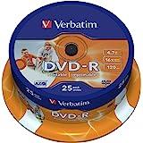 Verbatim 43538 - Pack de 25 DVD-R Imprimable