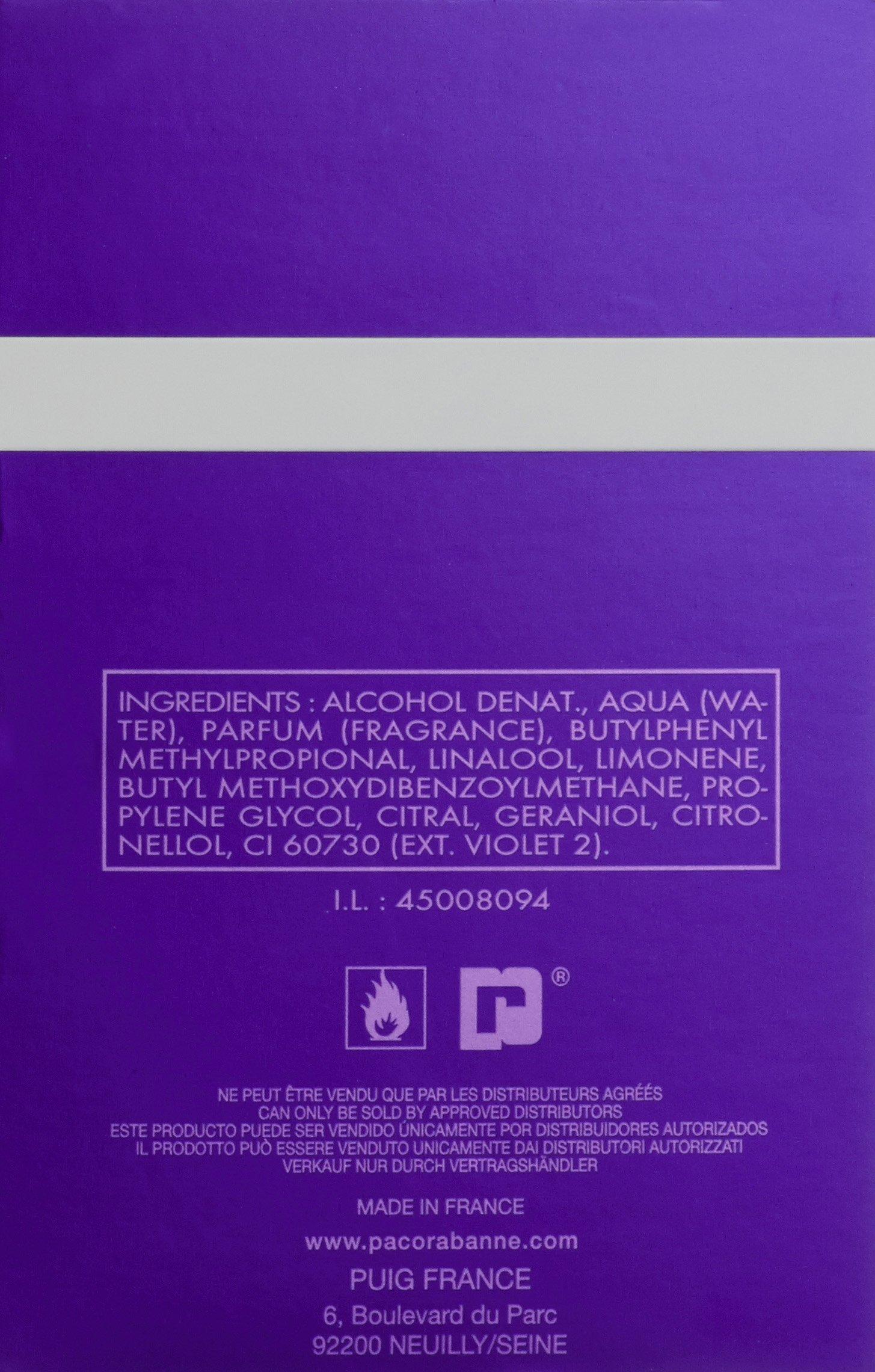 Paco Rabanne Ultraviolet Man – Eau de Toilette Vaporizador, 50 ml