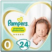 Pampers Premium Protection Größe 0, Windel, 24 Stück