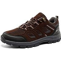 Scarpe Trekking Uomo Stivali da Escursionismo Basse Scarponi Montagna Sportiva Sneakers All'Aperto Leggere Traspiranti…