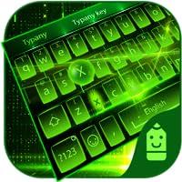 Green light  Theme&Emoji Keyboard