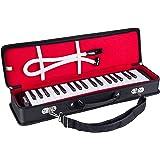 Mugig Melodica 37 Touches, Large Gamme F-F3, Plus de le Diapason Etendu, Facile à Contrôler, adapté à l'enseignement, la Perf