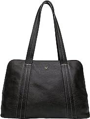 Hidesign Women's Cerys Leather Multi Compartment Tote Black