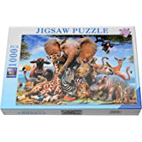 Store2508 Jigsaw Puzzle Set Animal Kingdom 1000 Pcs 50x75 cm
