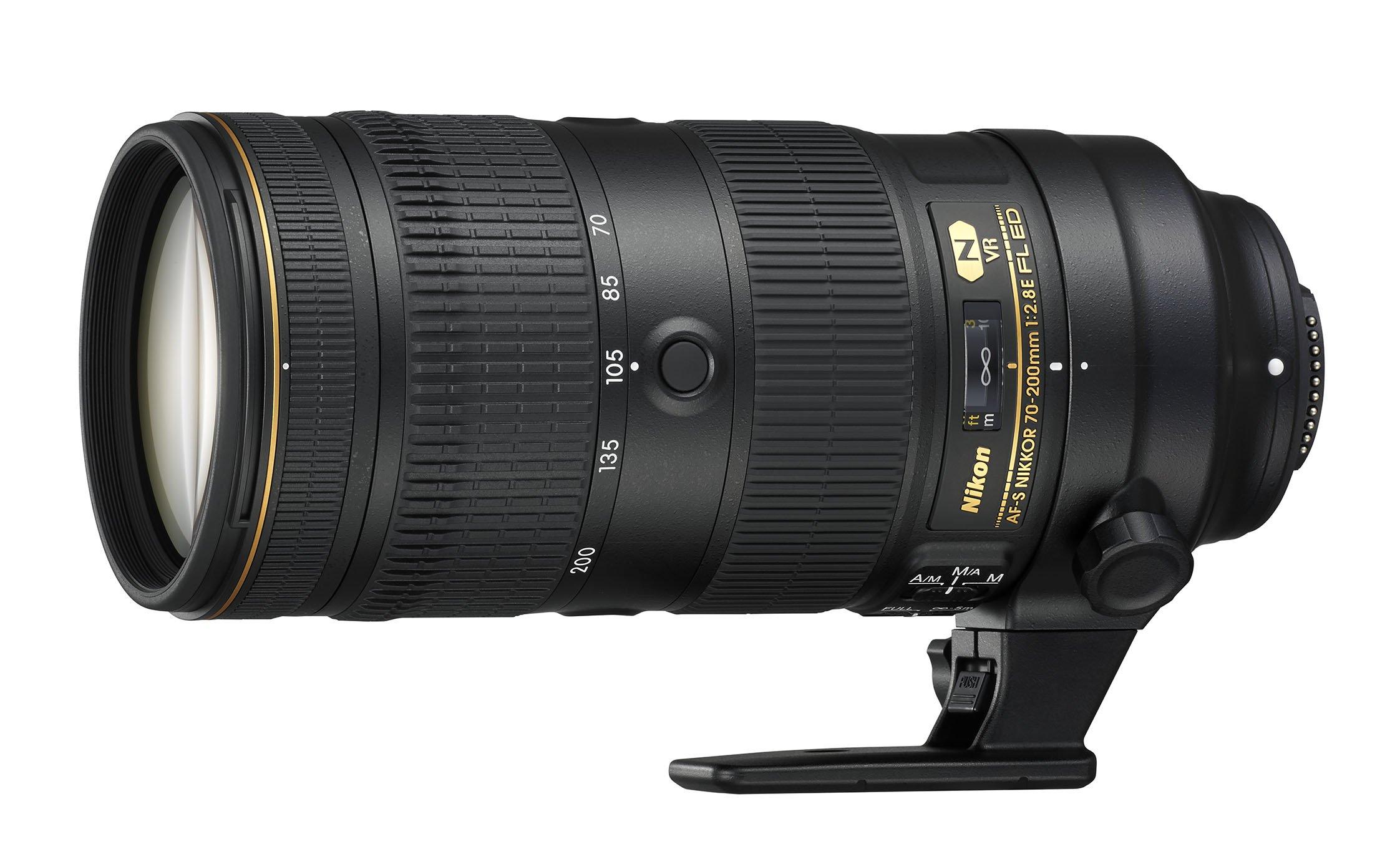 Nikon AF-S NIKKOR 70-200mm f/2.8E FL ED VR - camera lenses
