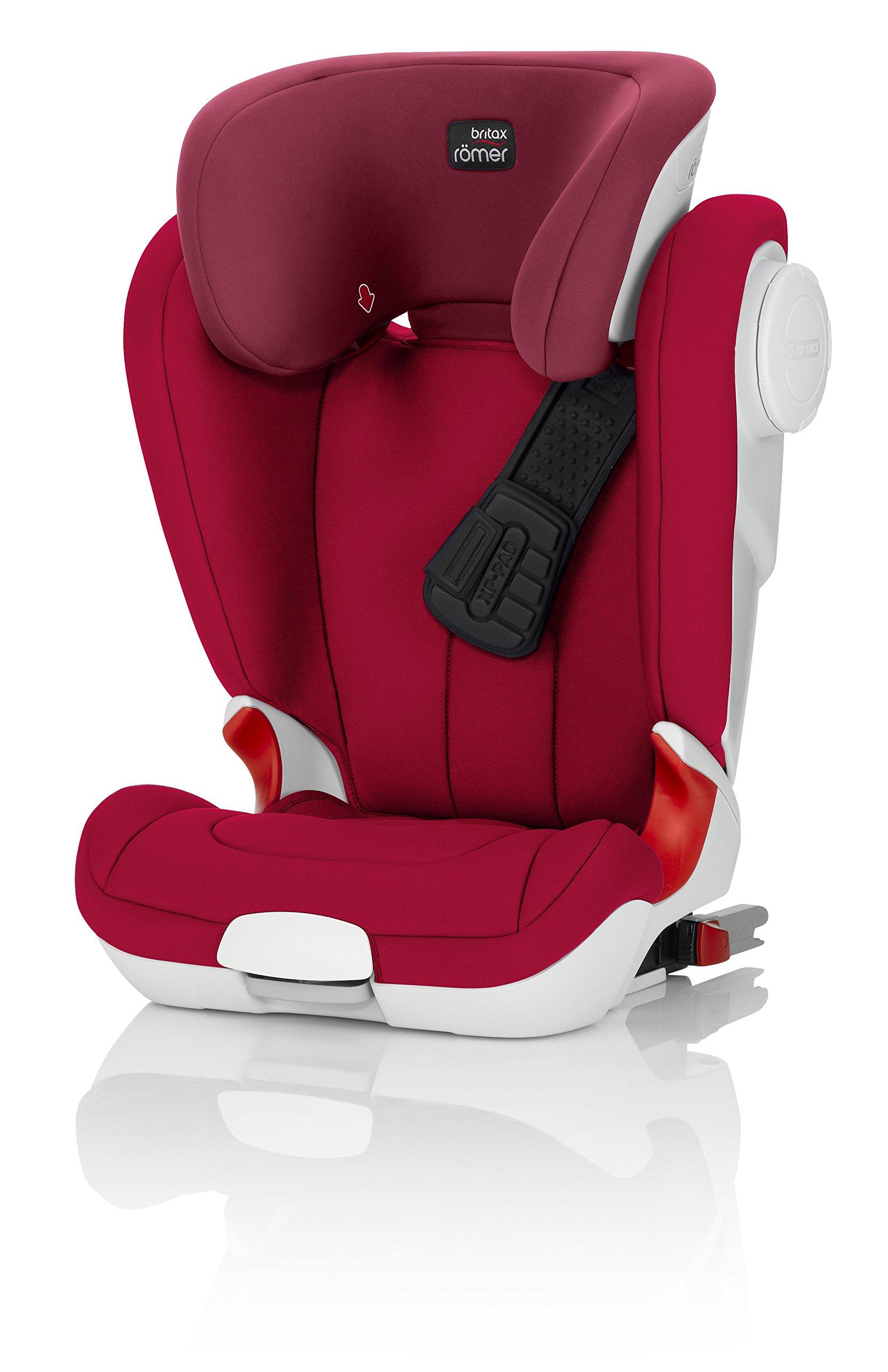britax r mer kindersitz 15 36 kg autositz gruppe 2 3 kidfix xp sict flame red best puls. Black Bedroom Furniture Sets. Home Design Ideas