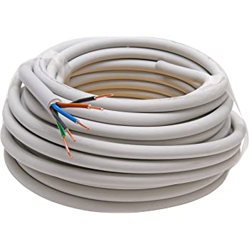 Kopp Mantel-Leitung 5 adrig, NYM-J 5x1.5 mm² (10m) Strom-Kabel für ...